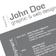 3-Piece Minimalist Resume - GraphicRiver Item for Sale