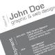 3-Piece Minimalist Resume - GraphicRiver Item for Sale