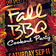 Fall BBQ Flyer Template - GraphicRiver Item for Sale