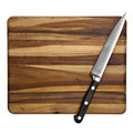 Knife on Chopping Board Isolated - PhotoDune Item for Sale