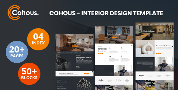 Cohous - Interior Design Template