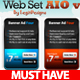 Web Set AIO v1 - GraphicRiver Item for Sale