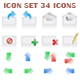 Vector web icons set - GraphicRiver Item for Sale