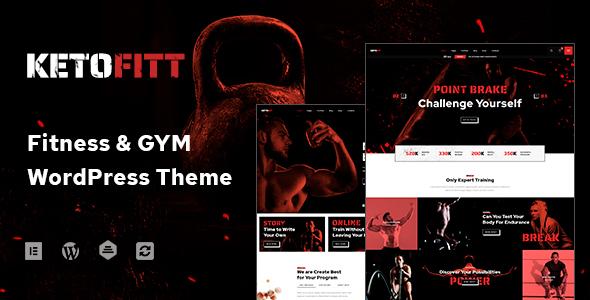 Special KetoFitt - Fitness & GYM WordPress Theme