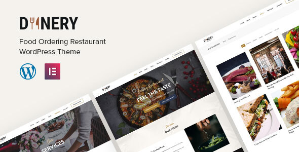 Dinery | Food Delivery Restaurant WordPress Theme