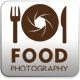 Food Photography Logo Template - GraphicRiver Item for Sale