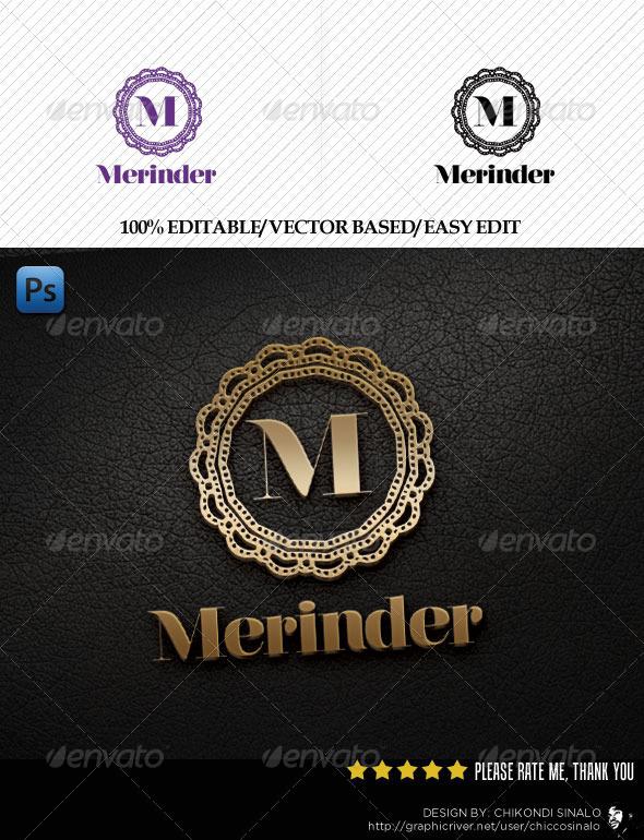 Merinder Logo Template - Crests Logo Templates