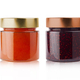 small jam jars with blank labels - PhotoDune Item for Sale