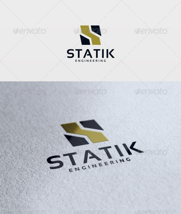 Statik Logo - Letters Logo Templates