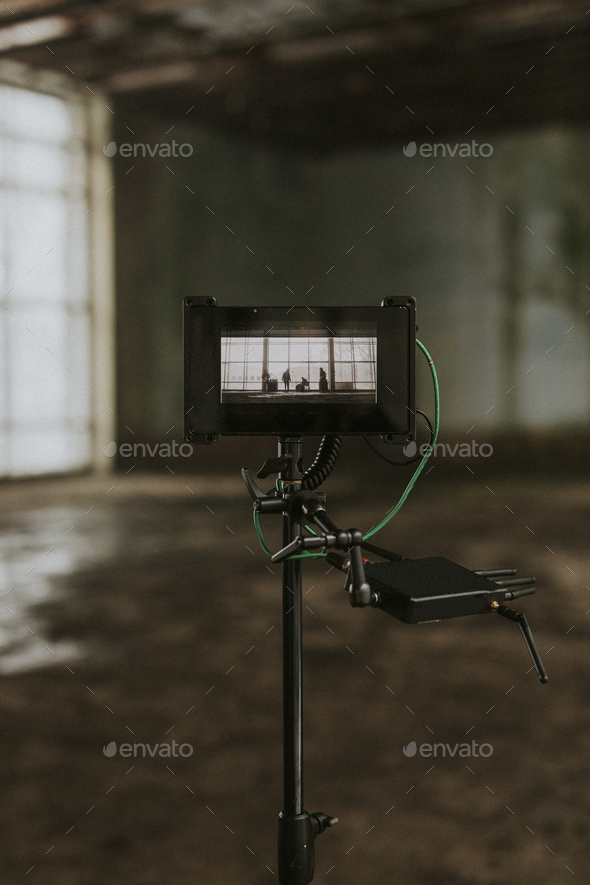 Musician video shoot - Stock Photo - Images