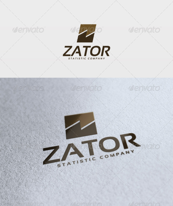 Zator Logo - Letters Logo Templates