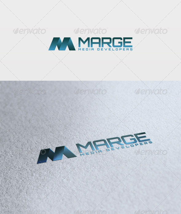 Marge Logo - Letters Logo Templates