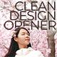 Clean Design Opener - VideoHive Item for Sale