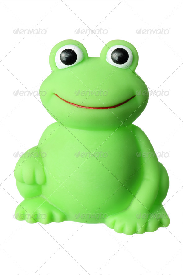 Toy Frog - Stock Photo - Images