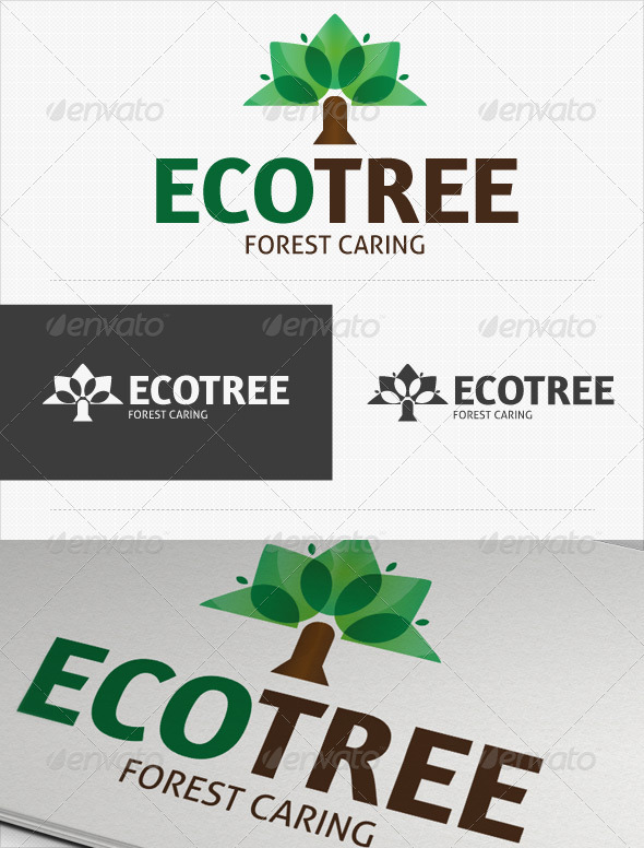 Eco Tree Logo - Nature Logo Templates