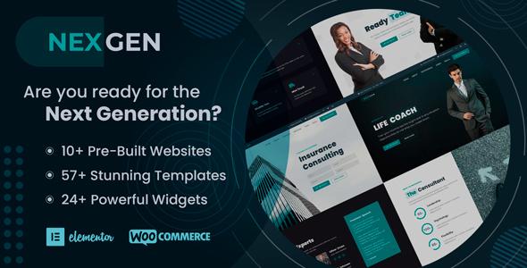 Nexgen - Multi-Purpose & All-in-One WordPress Theme