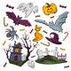 Set Of Halloween Objects - GraphicRiver Item for Sale