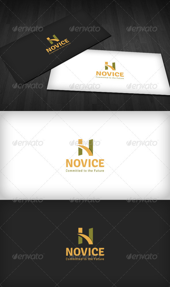 Novice Logo - Letters Logo Templates