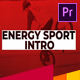 Energy Sport Intro - VideoHive Item for Sale