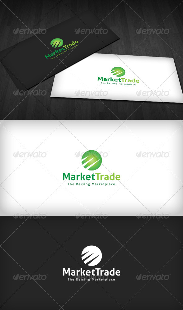 Market Trade Logo - Vector Abstract