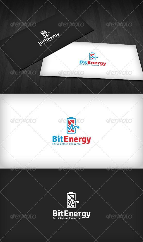Energy Bit Logo - Symbols Logo Templates