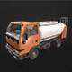 Light Truck Cistern - Low Poly