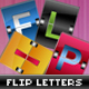Flip Letters and Numbers - GraphicRiver Item for Sale