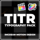 TITR | Dynamic Typography Pack | Final Cut Pro X - VideoHive Item for Sale