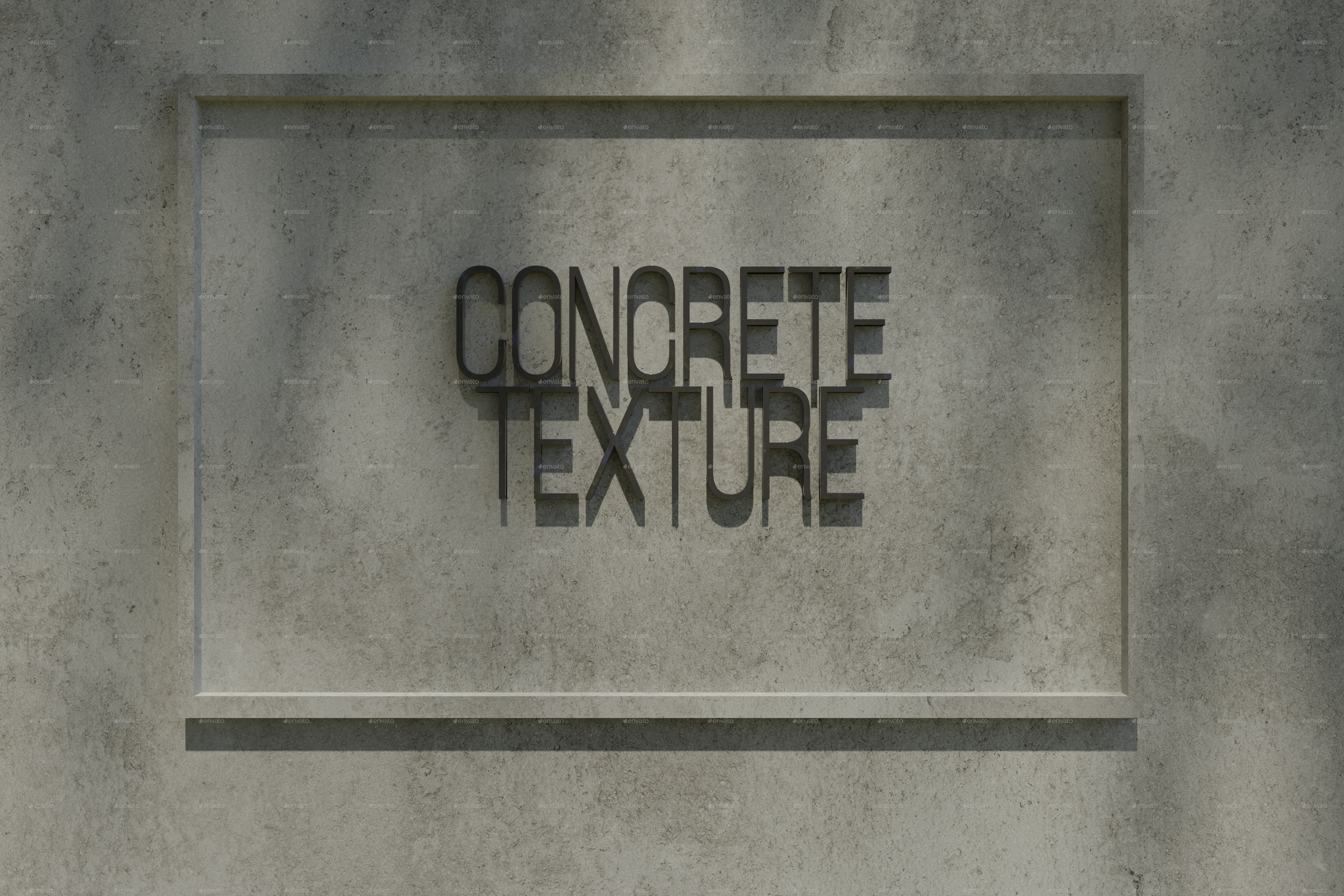 Two Seamless Concrete Textures - 1