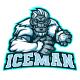 Iceman Yeti mascot logo for eSport team