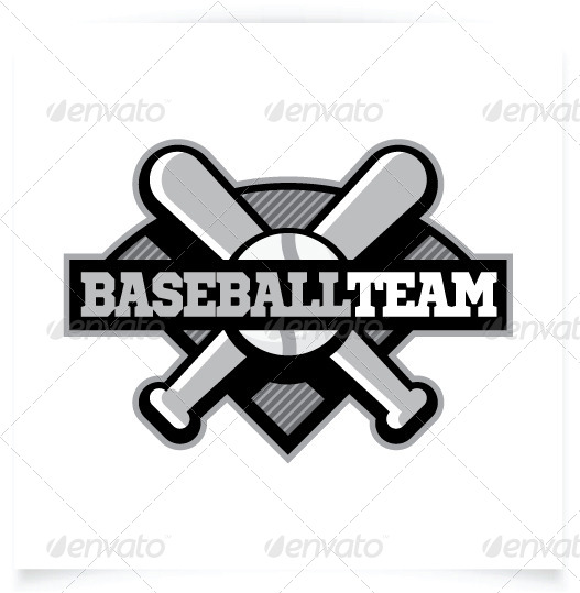 Baseball Team Logo Template by Brandbusters | GraphicRiver