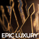 Gold Black Luxury And Epic Logo Reveal - VideoHive Item for Sale