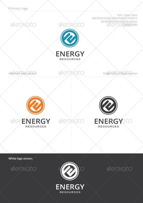 Energy - Letters Logo Templates
