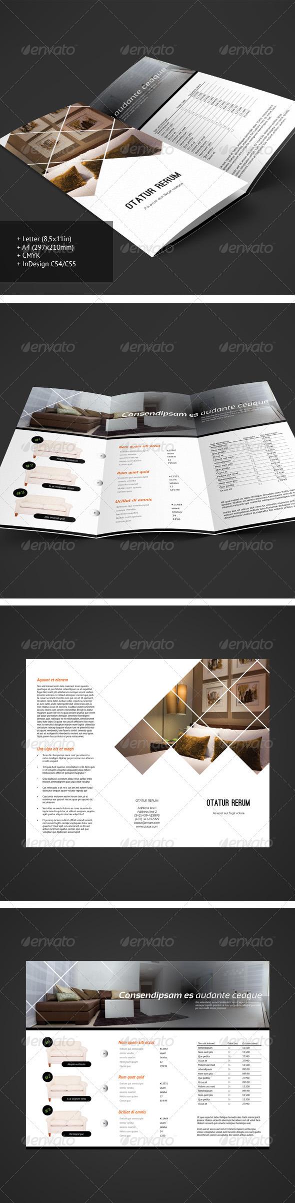 Tri-fold Brochure 9 - Informational Brochures