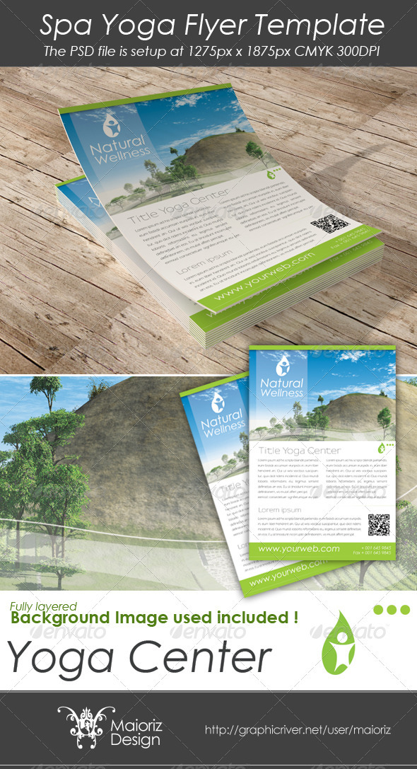 Natural Flyer Template - Corporate Flyers