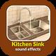Kitchen Sink Drain Water Sounds