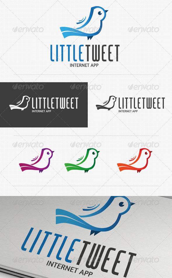 Little Tweet Apps Logo - Animals Logo Templates