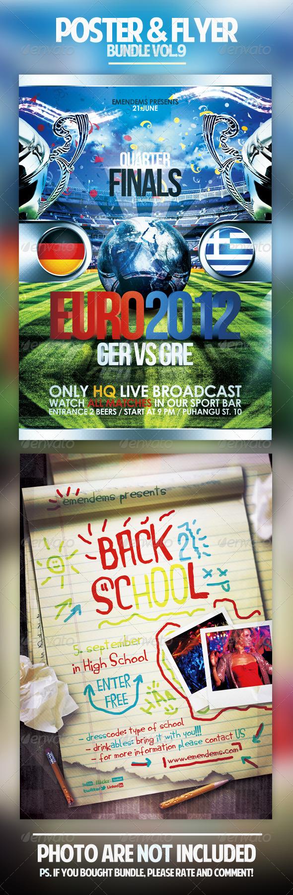 Poster & Flyer Bundle Vol.9 - Holidays Events