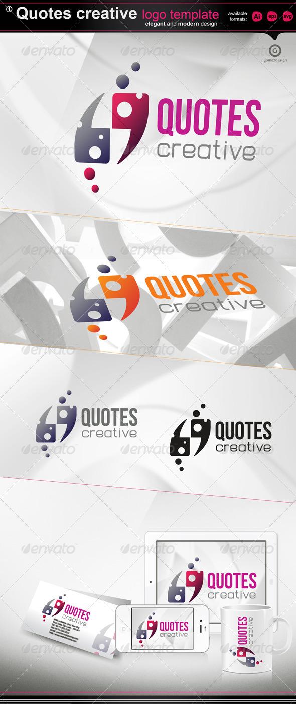 Quotes creative - Logo Templates