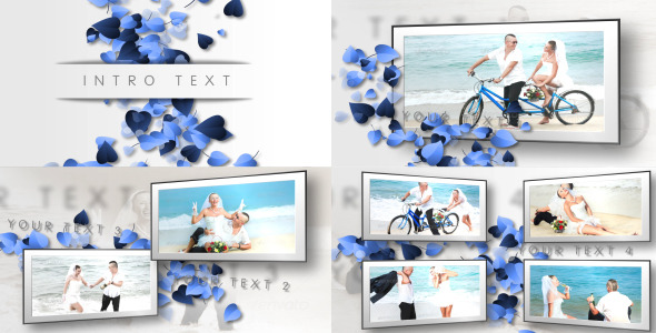 hearts clean wedding slideshow by riddlerius videohive