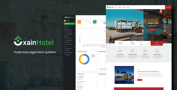 Xain - Hotel Management System with Website