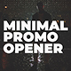 Minimal Promo Opener - VideoHive Item for Sale