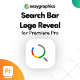 Search Bar Logo Reveal for Premiere Pro - VideoHive Item for Sale
