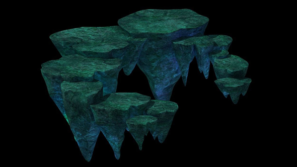 Floating Mountain Road Stone Terrace pumice stone