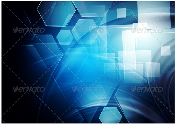 Abstract tech background - Abstract Conceptual