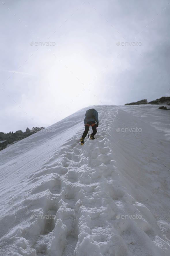 Hiking in Chamonix - Stock Photo - Images