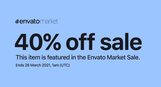 Envato March Sale 2021