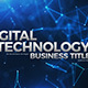 Digital Technology Business Titles - VideoHive Item for Sale