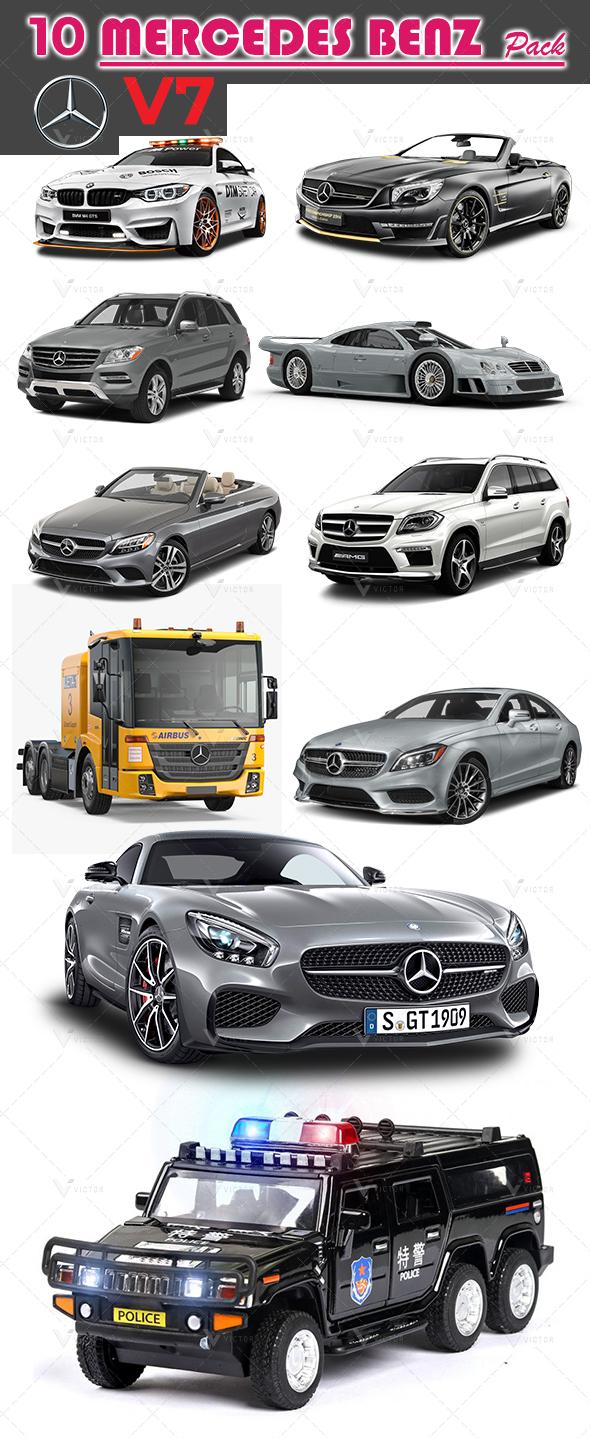 10 Mercedes Pack V7