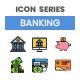 75 Banking Icons | Vivid Series
